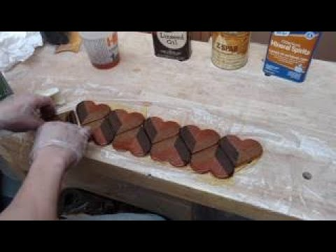Valentines Day Wood and Resin Heart Coasters | DIY Project | Another Coaster Friday | Cra