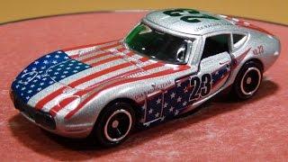 アピタ ピアゴオリジナル<世界の国旗トミカ> トヨタ 2000GT アメリカ国旗タイプⅡ