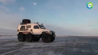 Союзники  арктический тест драйв и сенаторы на полигоне