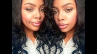 "IZIWIG-LaceWigsBuy.com Reviews- 18 "" Body Wave  Full Lace Wig 100% Indian Remy Human Hair"