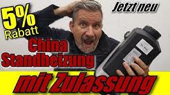 China Standheizung mit Zulassung