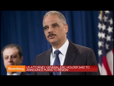 Eric Holder to Announce Resignation as Attorney General