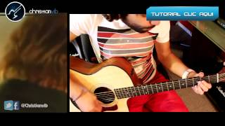 Heroe - Enrique Iglesias Guitarra - Cover Acustico Tutorial Christianvib Demo