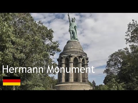 GERMANY: Hermann Monument - Teutoburg Forest [HD]
