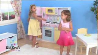 Large Pastel Play Kitchen 53181.mp4