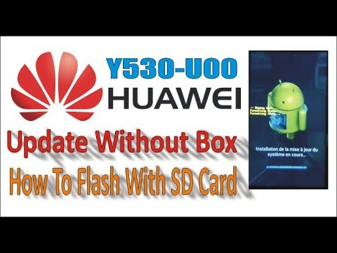 How To Update Huawei Y530-u00 From Sd Card (Huawei Y530 Stock Rom Firmware  / Software / Unbrick)