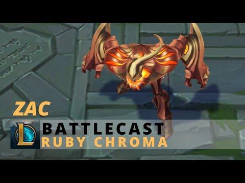 Battlecast Zac Ruby Chroma - League Of Legends