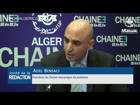 Adel Bensaci Président du Cluster mécanique de précision