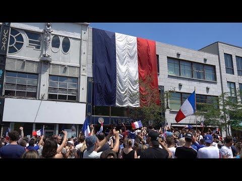 LA FRANCE GAGNE LA COUPE DU MONDE - Montréal 2018 (Québec)