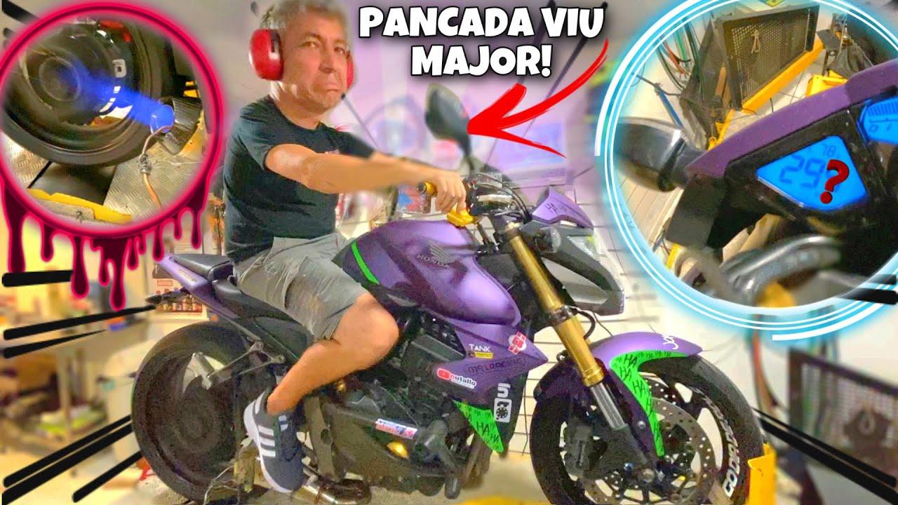 CB1000 REMAPEADA QUASE QUEBRA O DINAMÔMETRO!! (Ficou Possuída)