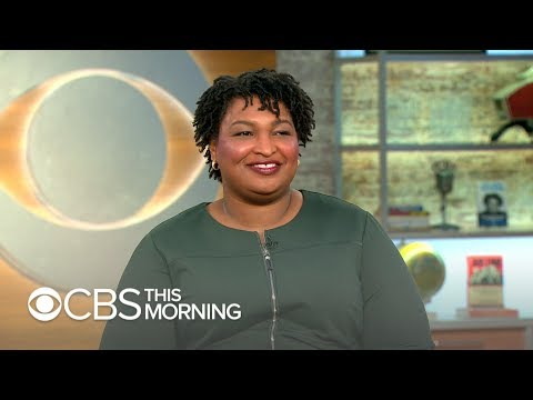 """Stacey Abrams: Past experience allows me """"to be just as capable"""" of becoming president as others"""