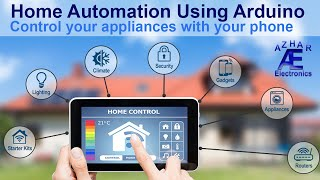 How to make Home Automation System Using Arduino- Code +  Connection