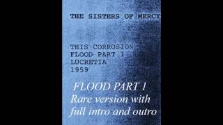The Sisters Of Mercy Flood 1 Very rare complet version 07/10/1987 First generation