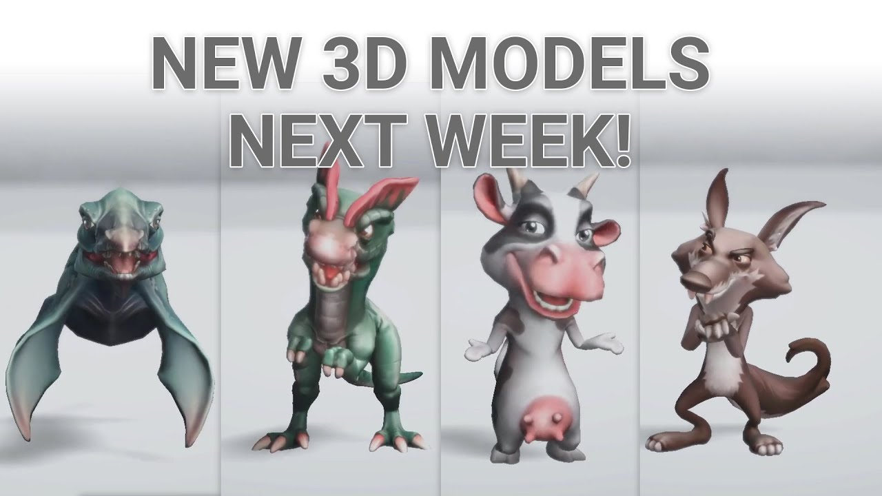 AR.fx | New 3D Models added!