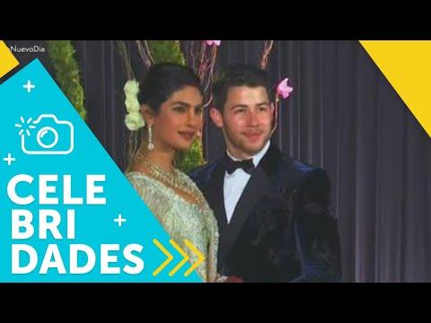 ¡Nick Jonas y Priyanka Chopra dieron el sí! | Un Nuevo Día | Telemundo