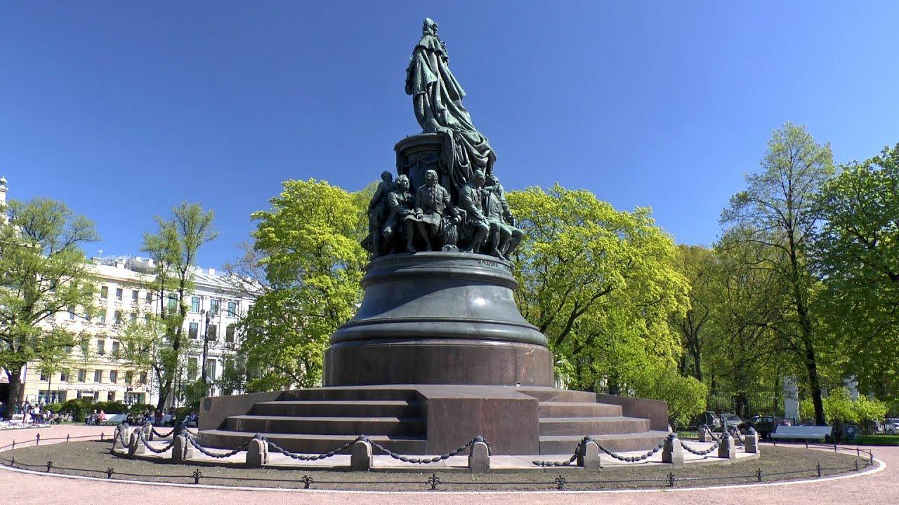Где памятник екатерины 2 памятники эксклюзивные из гранита размеры