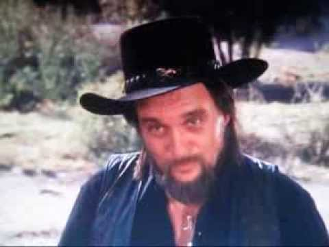waylon jennings only acting performance in dukes of hazzard - youtube