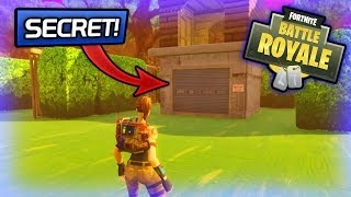 INSANE SECRET BUNKER!! - Fortnite: Battle Royale
