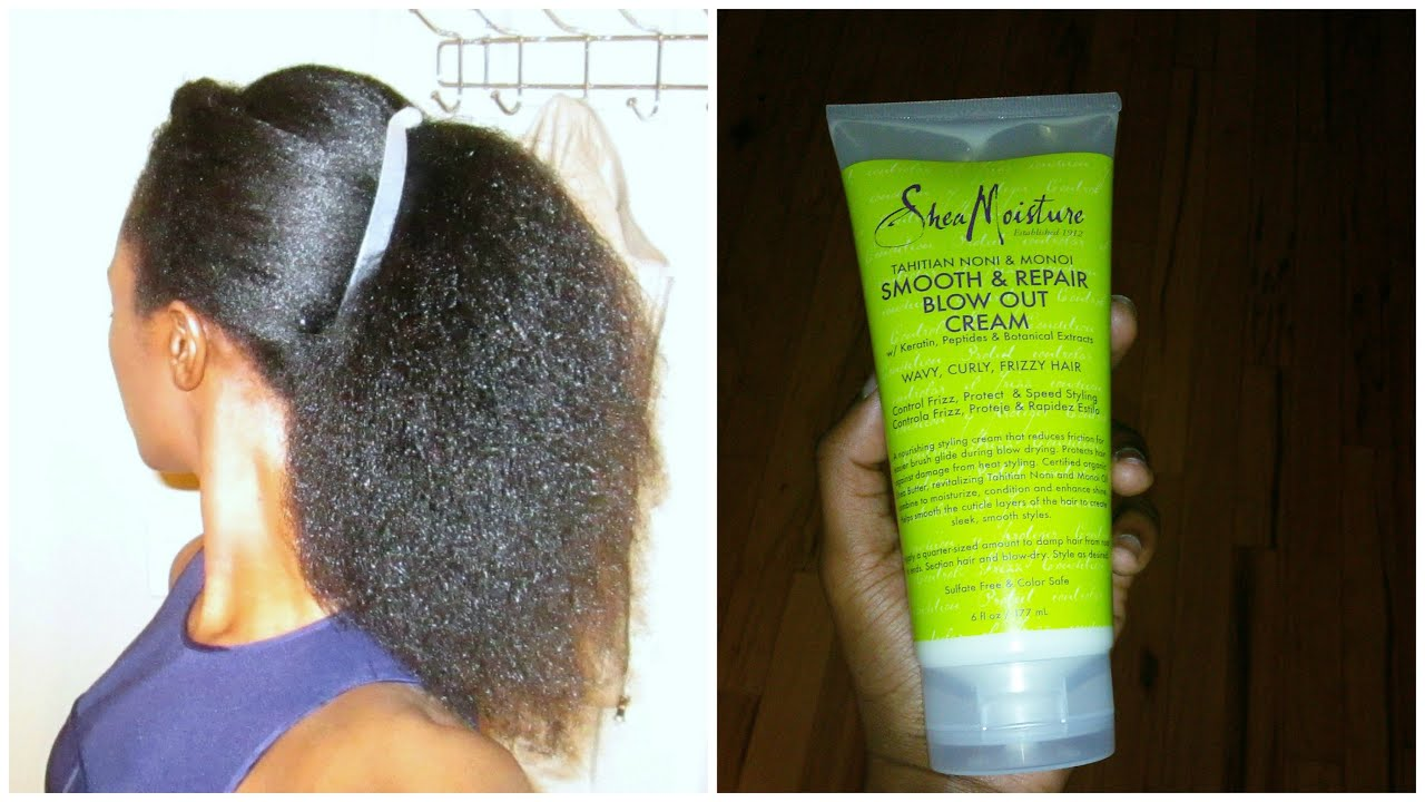 Blow Out Cream For Natural Hair