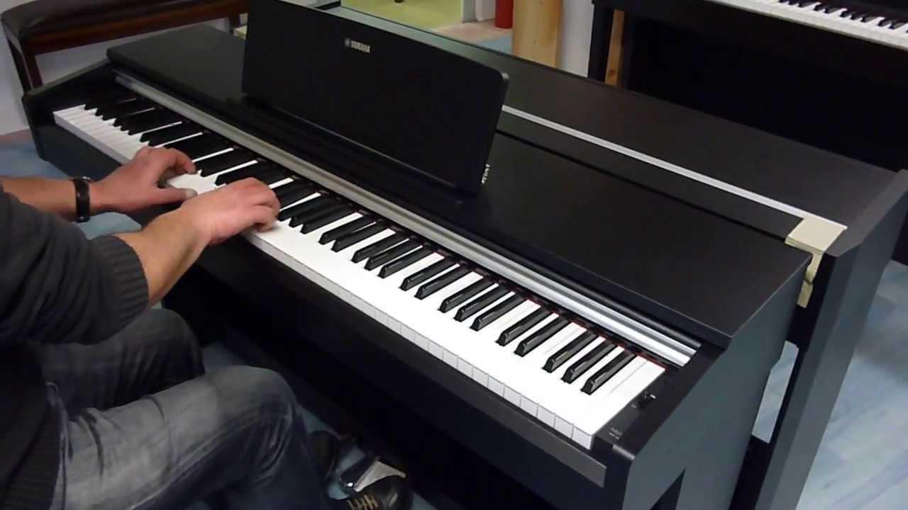 piano num rique yamaha ydp 142 neuf eml pianos. Black Bedroom Furniture Sets. Home Design Ideas