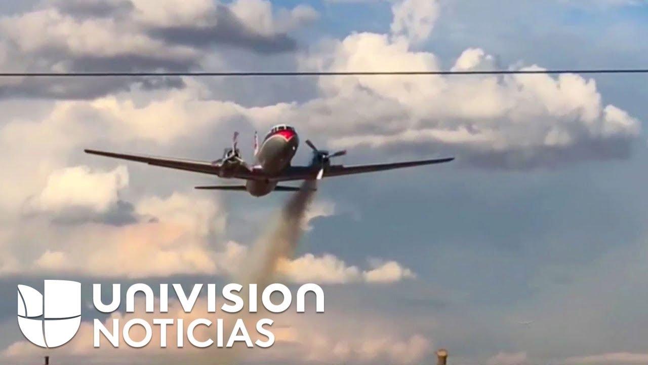 Un video muestra lo que pasa dentro de una aeronave antes y después de que se estrella