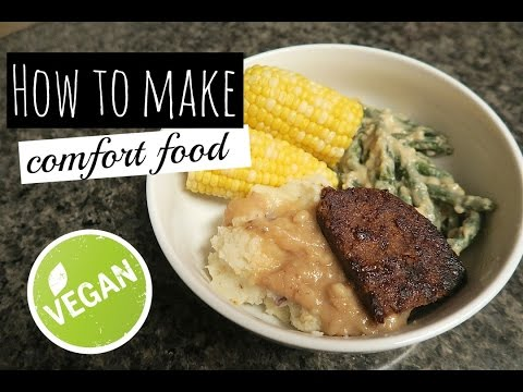 📝How to Make a Southern Meal [VEGAN COMFORT FOOD MADE EASY]💛🌿