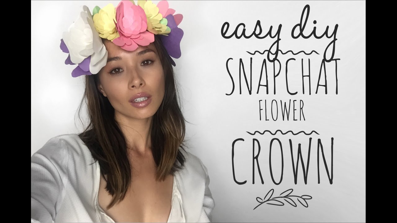 how to make a flower crown easy