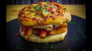 Iftar With Chef Chef Stone Day 24 - The Mighty Pizza Burger