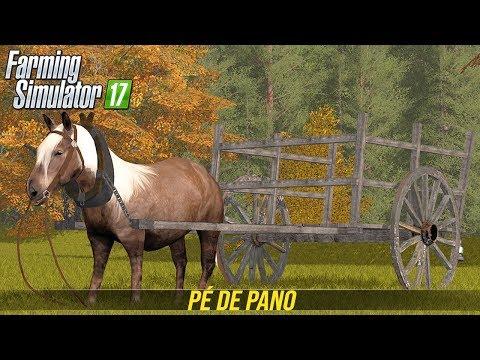 CAVALO NOVO NA FAZENDA | Farming Simulator 17 - Forestry Land thumbnail
