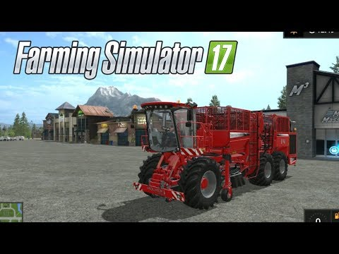 Farming Simulator 17--Private World #13!--GIGANTIC BEET HARVESTER!