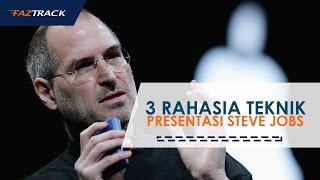 Video 3 Rahasia Teknik Presentasi Steve Jobs download MP3, 3GP, MP4, WEBM, AVI, FLV September 2017