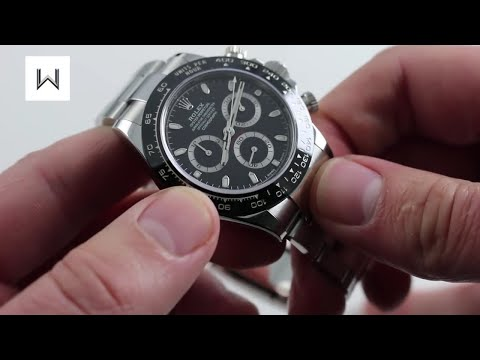Rolex Oyster Perpetual Cosmograph Daytona 116500LN Luxury Watch Review