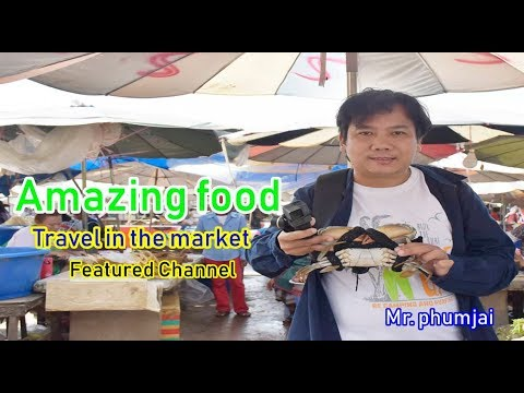 Amazing food : Travel in the market Laos and Thai  by Mr. phumjai