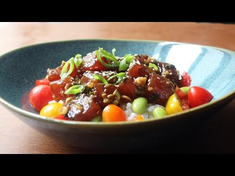 Tuna Poke Recipe - How to Make Hawaiian-Style Ahi Poke