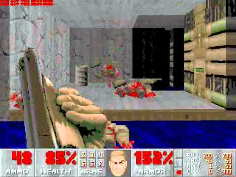Let's Play Doom II: Hell on Earth Part 1: Texas Chainsaw Massacre