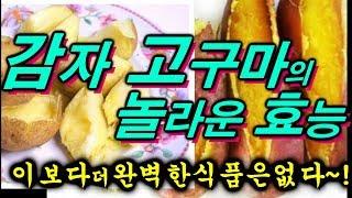 감자 고구마의 놀라운 효능및 건강법  ~♬~ 이보다 더 완벽한 식품은 없다~ !!!