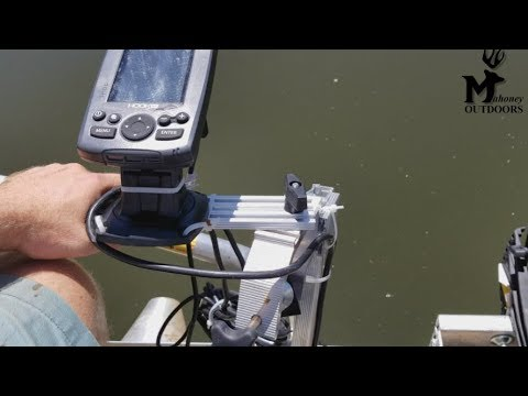 Cabelas Portable Transducer Mount With LCR Bracket Product Review