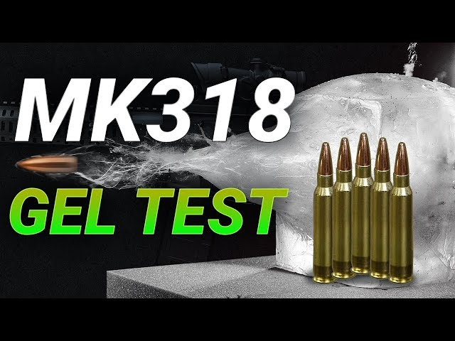 Can The Marines' New Wonder Bullet Keep Up With The Army's? Mk318 reduced velocity gel test