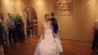 Шикарный свадебный танец с поддержками