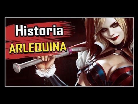 Batman Arkham Knight:  HISTÓRIA DA ARLEQUINA COMPLETA