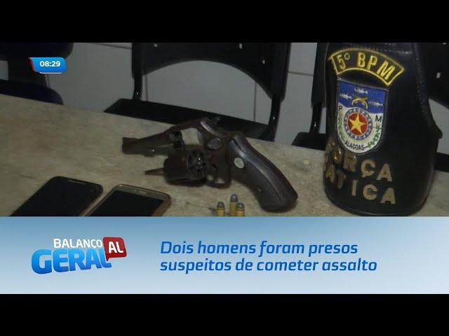 Dois homens foram presos suspeitos de cometer assalto no Benedito Bentes