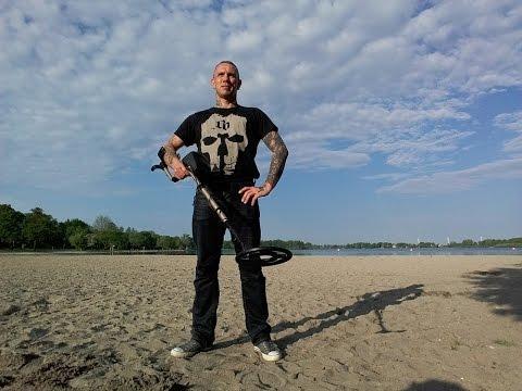 Sondeln mit Andy Einfelder See Neumünster 22.5.16  #german deutsch