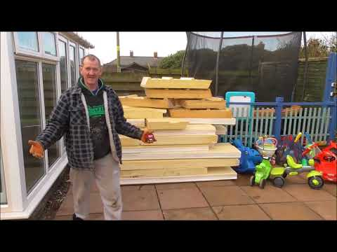 Build a conservatory p5 Joisting & Insulation