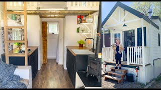 Her 103 SqFt Dream Tiny House - Living Debt Free In A $50k Micro Tiny Home