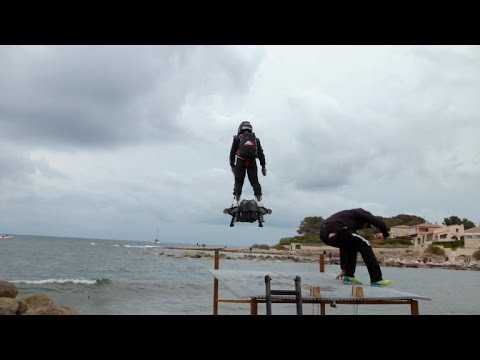 Hoverboard flight breaks world record