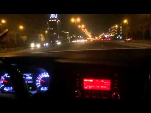 Night Driving in Baku (Azerbaijan)
