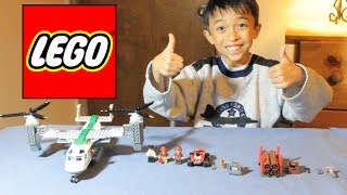 LEGO City CARGO HELIPLANE  Set 60021: Unboxing, build, and review