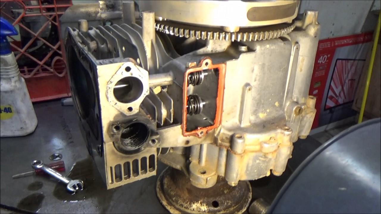 Briggs & Stratton Flathead Model 28 Race motor teardown