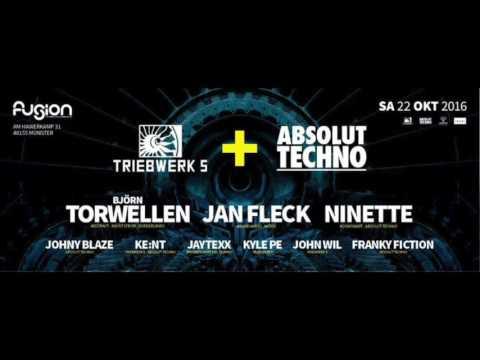 John Wil @ Triebwerk 5 feat. Björn Torwellen, Jan Fleck & Ninette / Fusion Club Münster (22.10.2016)