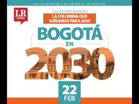 Foro Bogotá en 2030